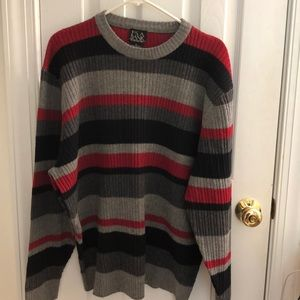 Jos. A. Bank Lambs Wool Crew-Neck Sweater.